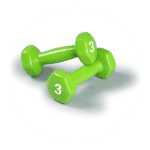 Dumbbells Hand Weights Set of 2 - 5 pounds weights