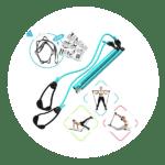 FLEXIES Portable Pilates Bar kit
